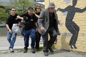 JB LOWE Art Ephemeral - crew stalking artist