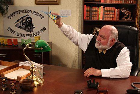 John B. Lowe as Mr. Gottfried in Tiny Plastic Men
