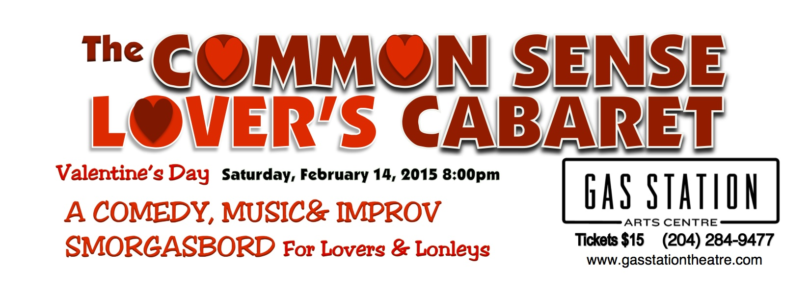 Common Sense Lover's Banner white