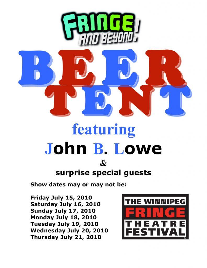 Beer Tent Poster
